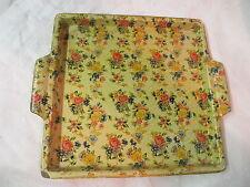 Vintage Japan Paper Mache Chintz Tray