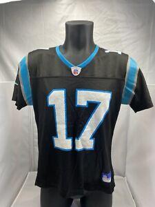 Vintage Jake Delhomme Carolina Panthers Large youth Jersey Black 17