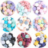 Hexagon Food Grade Silicone Loose Beads DIY Toys Baby Teething Necklace Jewelry