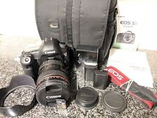 Canon EOS 5D Mark III Camera Body + 24-105mm f/4L IS Lens - 33k SHUTTER + BONUS