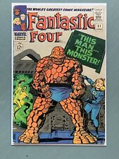 Fantastic Four 51 Classic Cover, 1st Negative Zone, Marvel Comics 1966