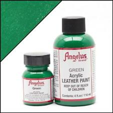 Angelus Acrylic Leather Paint Green 4oz Colour f Shoes/Sneakers Water Resistant