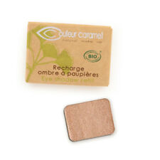 Recharge Fard à Paupières n°104 Bora Bora nacr��e Bio - 1,3 g - Couleur Caramel