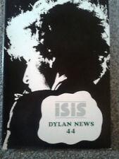 Bob Dylan Isis Bob Dylan Fan Club Magazine nr 44 rarità