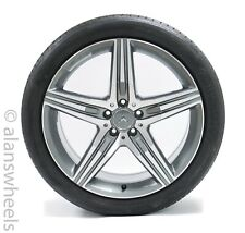 """Mercedes Benz S63 AMG 20"""" Mach Face Painted Packets Wheels Rims Tire 85357 85356"""