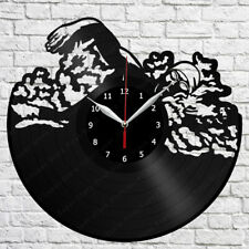 "Swimming Vinyl Record Wall Clock Art Home Decor 12"" 30cm 1862"
