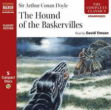 The Hound of the Baskervilles 5 Disc CD Audio Book by Arthur Conan Doyle - NEW