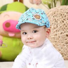 Toddler Infant Trendy Baseball Baby Boy Girl Hat Peaked Beret Cotton Cap