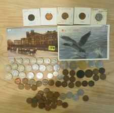 Massive Canadian coin lot amazing! about 100 coins!!! lot 250
