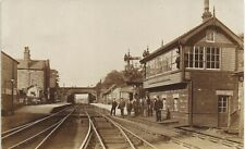 More details for woodley junction near hyde & bredbury. railway station & signal box.