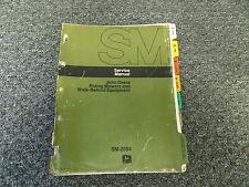 John Deere 31S Walk Behind Lawn Sweeper Shop Service Repair Manual TM2094
