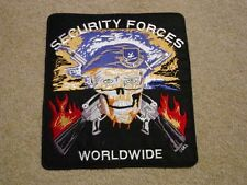 "Huge! USAF Air Force SP's Patch! 10"" X 9"" Military Security Police Patch"