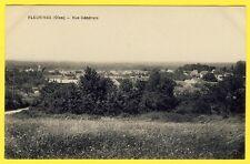 cpa Picardie 60 - FLEURINES (Oise) Vue Générale du Village