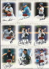 HUGE 1996 LEAF BASEBALL AUTOGRAPH WHOLESALE SPORTS CARD COLLECTION LOT