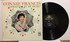 CONNIE FRANCIS Christmas In My Heart; 1959 MGM E3792; Original, Vintage 1st US
