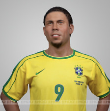 Life Size Ronaldo Soccer Football Player Wax Statue Realistic Prop Display 1:1