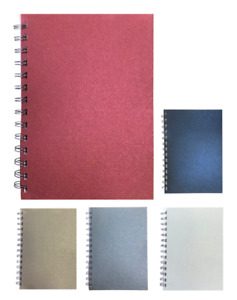 Various Colour Pearl A5 Lined Notepads 70 Sheets 80gsm