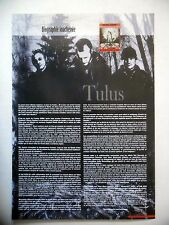 COUPURE DE PRESSE-CLIPPING :  TULUS  4ème trim 2007 Sarke,Biography Obscene