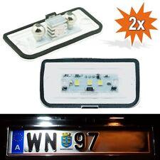 2x LED Kennzeichenbeleuchtung Mercedes C-Klasse W203 Limousine W209 R230 1103-4D