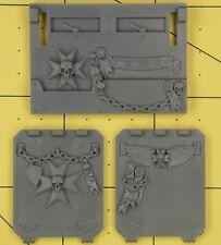 Warhammer 40K Space Marines Black Templars Upgrade Rhino Parts
