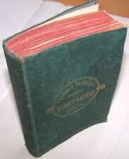 GUIDE DIAMANT JOANNE 1885 Bretagne BE cartes réclames publicités gravures