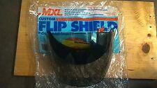 MXL Open Face Helmet Drop Shield - Universal - Poly-carbonate Smoke Tint