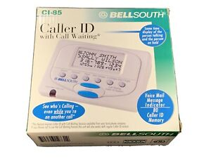 New Bell South CI-85 Caller ID With Call Waiting New 80 number memory BELLSOUTH