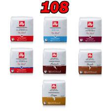ILLY 108 CAPSULE - 6 CONFEZIONI DI CAFFE' IPERESPRESSO A SCELTA!
