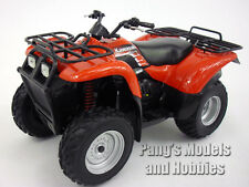 Kawasaki Prairie 400 ATV Quad 1/12 Scale Diecast Metal and Plastic Model - RED