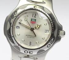 Authentic TAG HEUER Kirium WL1114 Silver Dial Quartz Men's_412629