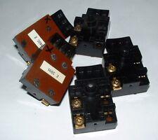 5 X FRECCIA Power Tool trigger SWITCH CON SERRATURA DOPPIA POLE 140c-2