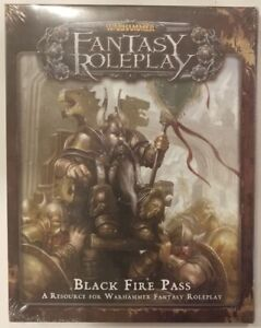 WARHAMMER FANTASY ROLE PLAYING BLACK FIRE PASS Boxed Set New