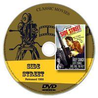 Side Street 1950 Classic DVD Film - Farley Granger, Crime, Drama, Film-Noir