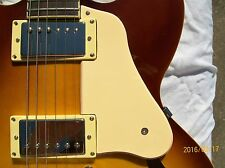 Cream single ply Short pickguard for an Epiphone ES335 PRO. Fat Gibson Style