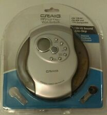 New Craig CDM28 120/45 Second Anti-Skip Personal MP3/CD Player w/ Earbuds