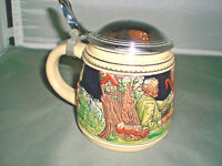 DBGM & DRM STEIN with Surround Village Scene / Dome Lid Germany