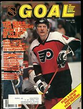 Goal Magazine NHL March 1985 Tim Kerr EX w/ML 012717jhe
