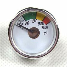 New 2x 3000 PSI Paintball Micro Gauge