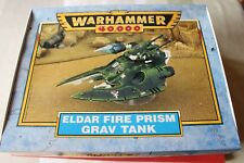 Games Workshop Warhammer 40k Eldar Fire Prism Grav Tank NIB New Classic Edition