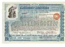 Baltimore and Ohio Railroad Company  1900