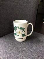 Atlanta Georgia Magnolia White Coffee Tea Mug