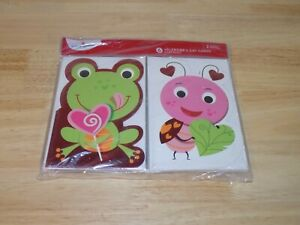 3 Pack American Greetings 6 Valentine's Day Cards for Kids 2 Unique Designs