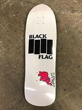 """Elephant Skateboards Vallely Black Flag Street Axe Skateboard Deck 9.5"""" X 32"""""""