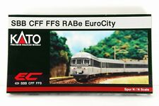 "N-Scale KATO K11401 SBB CFF FFS RABe ""Euro City"" 6-tlg set from JAPAN !!"