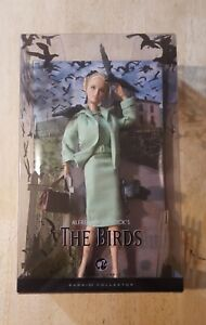 """""""The Birds"""" Barbie Mattel 45th Anniversary of Hitchcock's acclaimed film"""