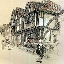 VIEILLES AUBERGES D'ANGLETERRE Raymond Recouly Cecil Aldin Illustration 1923 Inn