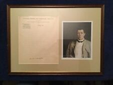 BOOKER T. WASHINGTON - AUTOGRAPH LETTER SIGNED 12/7/1899 INDUSTRIAL INSTITUTE