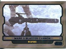 Star Wars Galactic Files 2 Blue Parallel Base Card #628 Mark II Blaster Cannon