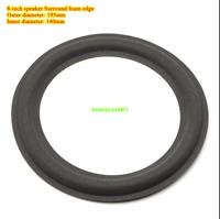 """2pcs 8""""inch 195mm Speaker foam edge speaker Surround Audio repair parts"""