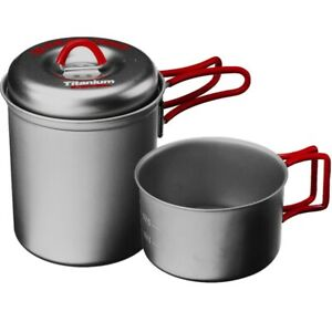Evernew Titanium Stacking Set - Titanium Cookware made in Japan since 1923